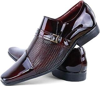 Sapato Social Neway em Couro Verniz Red