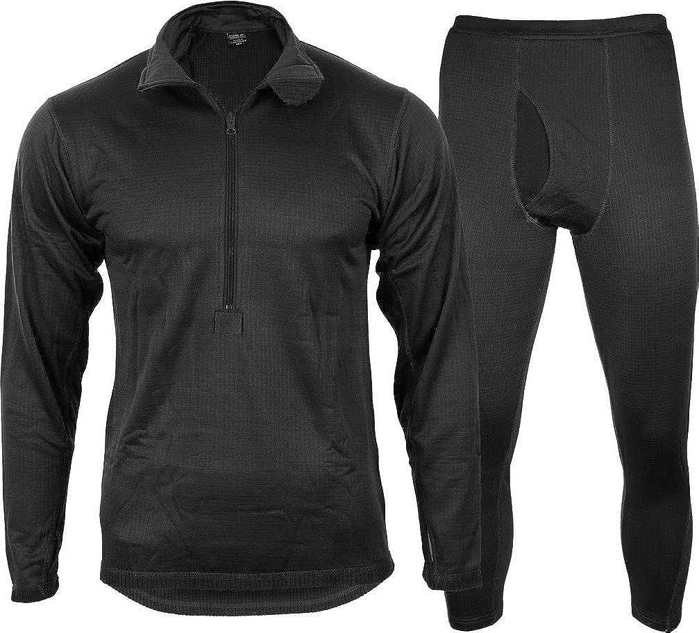 Miltec Third Generation ECWCS Thermal Underwear - Black