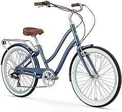 sixthreezero EVRYjourney Women's Step-Through Hybrid Alloy Beach Cruiser Bicycle (24-Inch,...