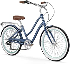 sixthreezero EVRYjourney Women's Step-Though Hybrid Cruiser Bicycle & eBike, 24