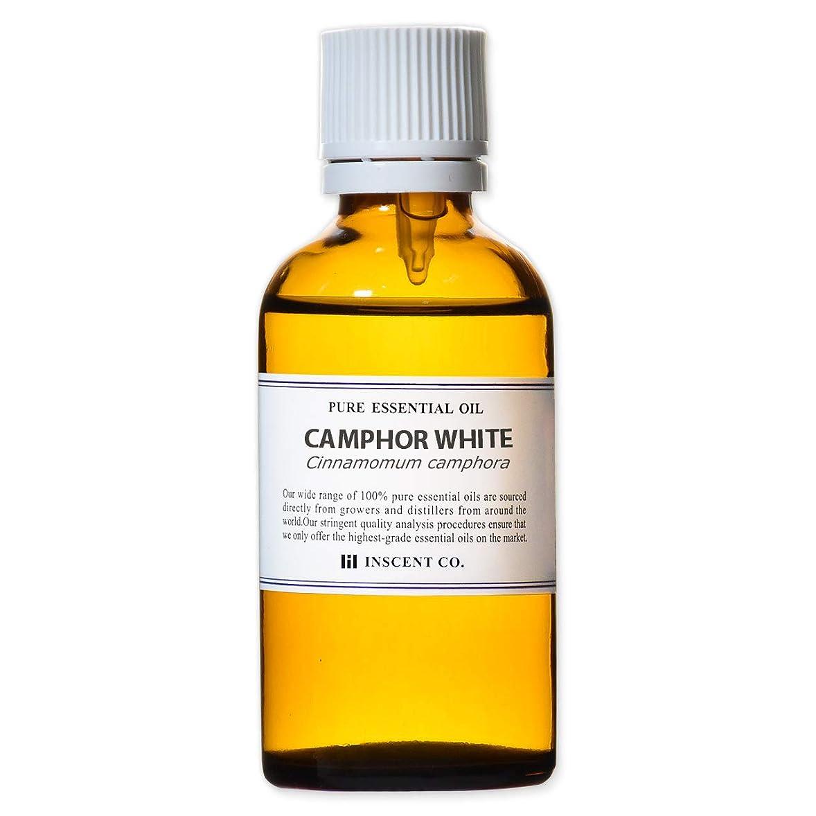 撤回する地味な堂々たるカンファー (ホワイト) 50ml インセント アロマオイル AEAJ 表示基準適合認定精油