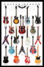 Pyramid America Guitar Heaven Famous Electric Guitars Rock Music Instruments Cool Wall Decor Art Print Poster 24x36