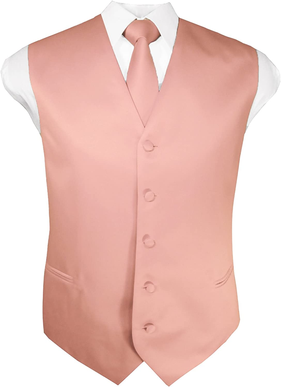 Guytalk Las Vegas Mall Mens Ranking TOP11 Solid Tuxedo Suit Vest 30 Hanky Colors and Tie Set