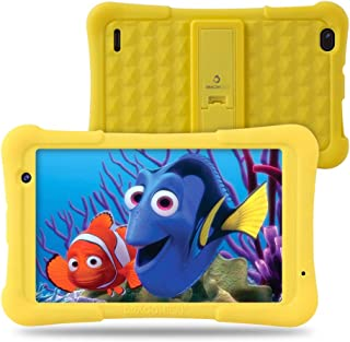 Dragon Touch Y80 Kids Tablet, 8 inch Android Tablets, 2GB RAM 16GB, Android 8.1 Oreo, Kidoz Pre-Installed with All-New Disney Contents WiFi Only 2019 - Yellow