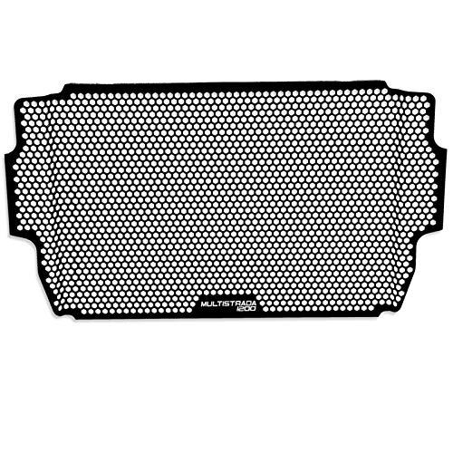 Kühlerabdeckungen Motorradzubehör Aluminium Kühler Grill Guard Cover Moto für Ducati Multistrada 1260 s Grand Tour Radiator Guard 2020+ (Farbe : Multistrada 1200)