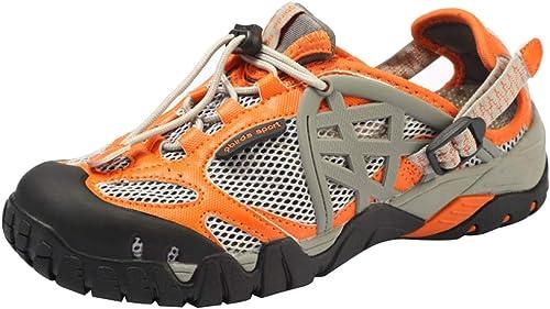 MYXUA Sandales pour hommes chaussures de randonnée en plein air chaussures à séchage rapide chaussures d'eau chaussures de rivière