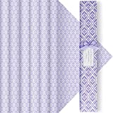 DERDUFT Lavender Scented Drawer Liners, each 42 x 58 cm, 6 Sheets, Gift Set for Christmas, Housewarming and Birthday