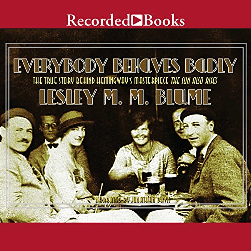 Everybody Behaves Badly audiobook cover art