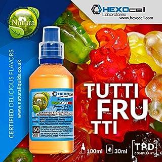E LIQUID PARA VAPEAR - 30ml Tutti Frutti (Osos gomosos de frutas mixtas) Shake