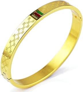 Women's Fashion Classic Lovely Brilliance Bracelet - Titanium Steel Red and Green Bracelets
