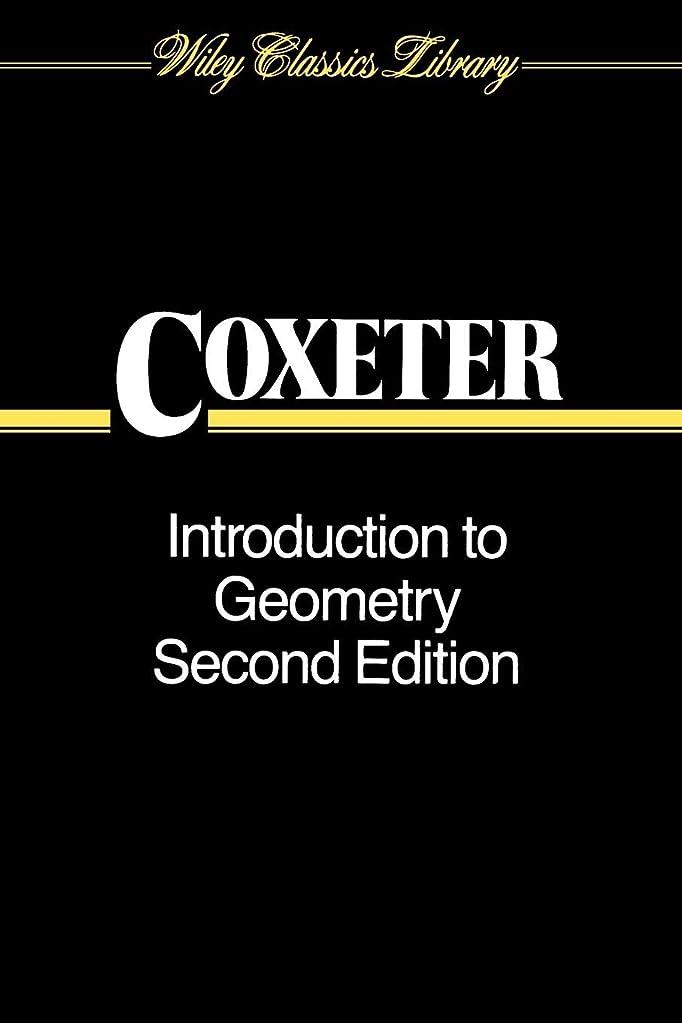 教育把握未亡人Introduction To Geometry 2e P (Wiley Classics Library)