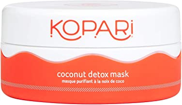 product image for Kopari Coconut Detox Mask- Clay Mask Made With Superfoods, Green Tea, Probiotics, Coconut Oil And More to Remove Impurities and Replenish Skin | 2.0 oz