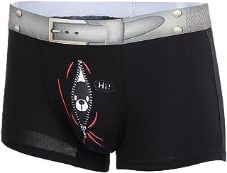 HOMYL Stylish Mens Bear Pattern Bulge Pouch Boxer Shorts Boxers Underwear Trunks Shorts Gift M L XL