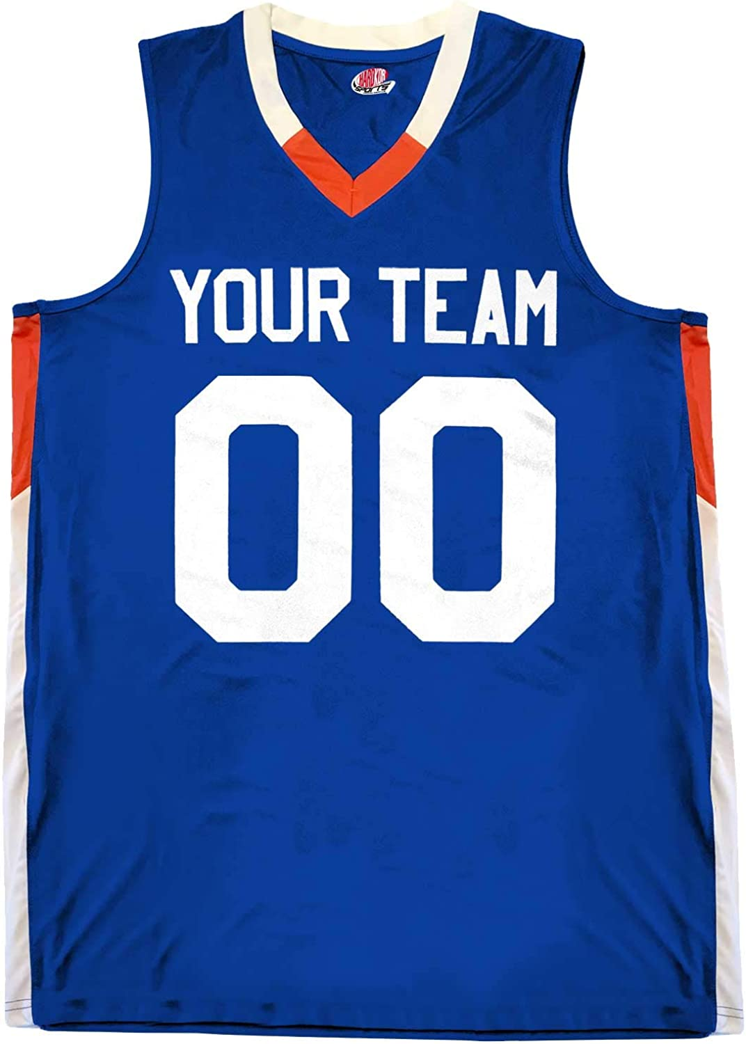 Custom Basketball Jersey Youth V-Neck 2 Names Color 35% OFF Max 75% OFF Trim with a