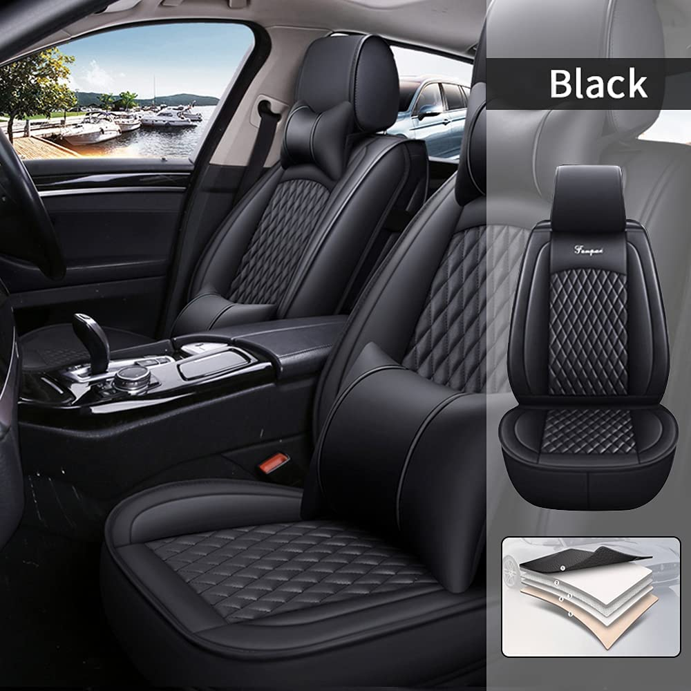 Jialuode Car Seat Covers Fit for KIA K5 2011-2019 W trend rank All Ranking TOP13 Full Set