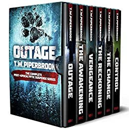 Outage Box Set: The Complete Post-Apocalyptic Suspense Series (Books 1-5 Plus Epilogue) by [T.W. Piperbrook]