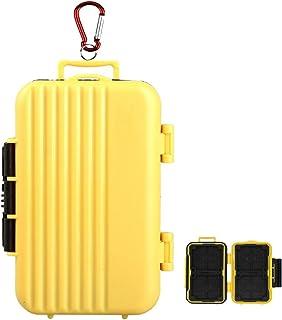 LXH 24 Slots Luggage Holder para Tarjeta de Memoria para 4 (CF) Compact Flash y 8 Secure Digital (SD) y 12 TF/Micro SD Tar...