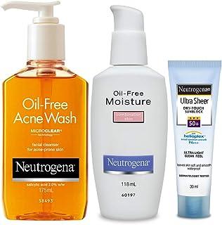 Neutrogena Acne Prone Skin Care Kit (Combo Of 3)