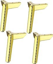 4 Stuks van Metalen Meubels Ondersteuning voeten voor kasten, Banken, Stoelen, Koffietafels, TV-kasten, met montage Schroe...