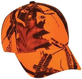 Mossy Oak Youth Camouflage Hunting Hat Blaze Orange Kids Cap