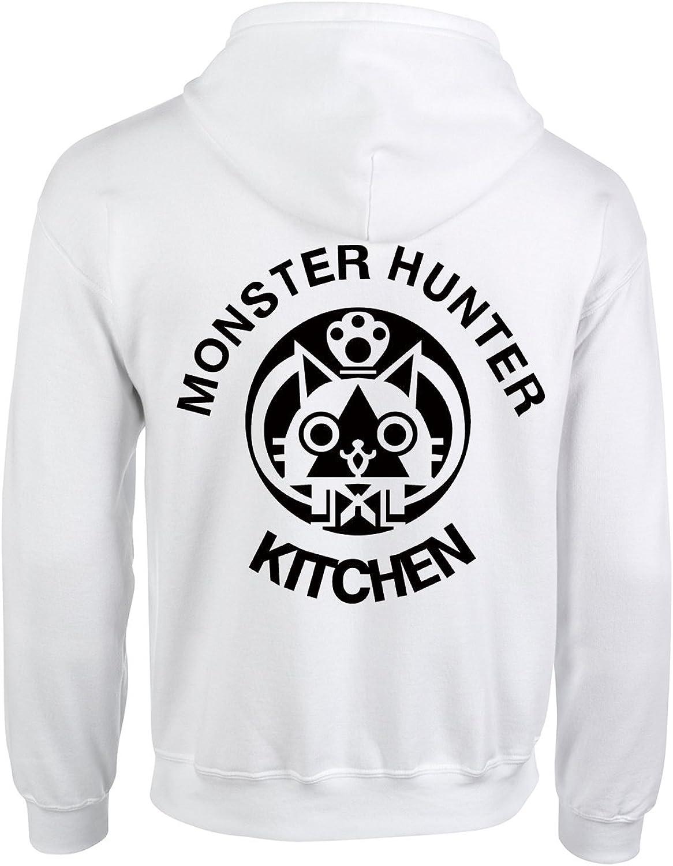 Happy Yohe Monster Hunter Airu Kitchen Thin Hoodie Coat Animation