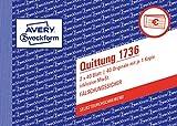AVERY Zweckform 1736 Quittungsblock weiß