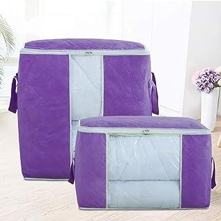 ZLJ Sacs de Rangement Rangement de vêtements en Cube fourre-Tout de Rangement Grand Rangement pour buanderie boîte de Rang...