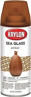 Krylon K09053000 Sea Glass Spray Paint, Amber, 12 Ounce