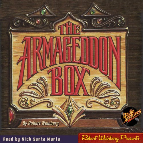 The Armageddon Box audiobook cover art