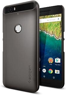 spigen Funda Nexus 6P, [Thin Fit] Exact-Fit (Gris)