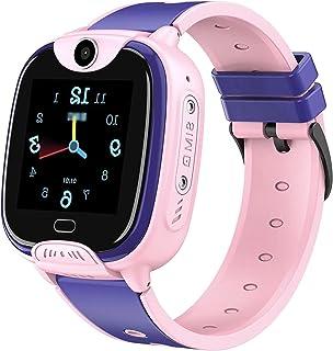 Smartwatch NiñOs Gps Acuatico Reloj Inteligente NiñOs Smartwatch NiñOs Con Gps+Lbs Impermeable Ip67 Sos CáMara Smart Watch...