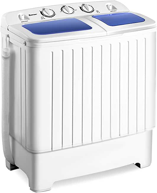 Costway 17.6-lb. Portable Compact Washing Machine