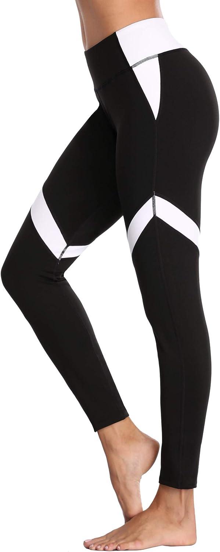 Belamo Women's Compression Yoga Pants Tummy Control Leggings Workout Running Pants