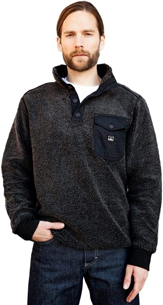 Kimes Ranch Men's Whiskey Pullover Sweater