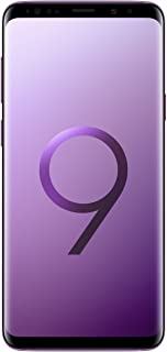 "Samsung Galaxy S9+ Plus (6.2"", Dual-SIM/Hybrid-SIM) 256GB SM-G965F Factory Unlocked 4G Smartphone (Lilac Purple) - International Version"