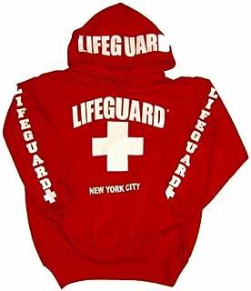 New York City Hoodie - Red Sweatshirt Apparel for Women, Men, Teens, Girls - Unisex - Adult Small