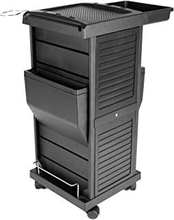 Claire Lockable Salon Trolley Cart Perfect for Hair Salon,Tattoo Studio, Spa, Office, Skincare, Day Spa