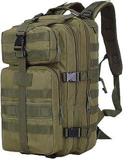 Mochila Militar Táctica - Molle Acampada Deporte Camping Senderismo Backpack de Asalto Patrulla Daypack, Camuflaje-Estilo A,