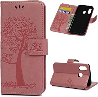 Premium PU Leather Wallet Flip Case 3D Colourful Pattern Design with Kickstand Card Holder Slot Front and Back Folio Magnetic Cover,Owl JAWSEU Case Compatible with Samsung Galaxy J5 2016