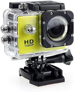 Actie Camera, HD 1080P Actie Camera Waterdichte Camera met 2.0 'scherm Onderwater Cam Waterdicht 30 M, voor Live Streaming...