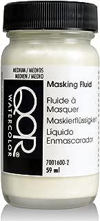 Golden QoR Watercolor Masking Fluid, 2 Ounce Bottle (7001600-2) White