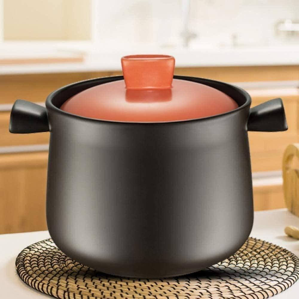 Ceramic Casserole Award Non-stick Pan Oven Large Ca Cook Boston Mall Slow