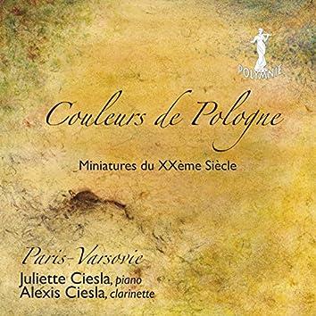 Couleurs de Pologne - Miniatures du XXe siècle