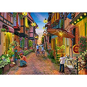 Jigsaw Puzzles for Adults 1000 Piece Puzzle for Adults 1000 Pieces Puzzle 1000 Pieces-Italy Lake Como Small Town…… from Huadada
