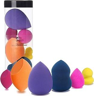 Miss Gorgeous Makeup Sponge Set Blender Beauty Foundation Blending Sponge - Multi-colored 6 Pieces