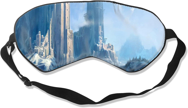 Award Blindfold with Adjustable Beauty products Strap Blackout Mask Sleep Eye fo