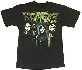 Real Swag Inc Escape The Fate Massacre Band Image 2010 Tour Black T Shirt