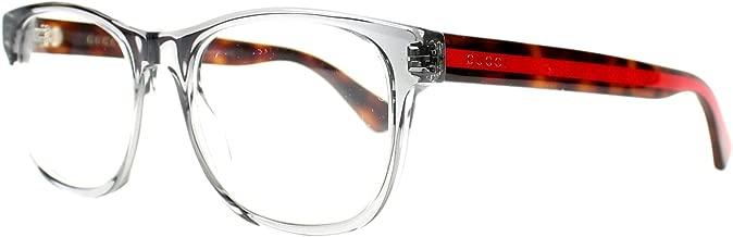Gucci GG0004O, Plastic Square Eyeglasses, GG 0004O, 53mm