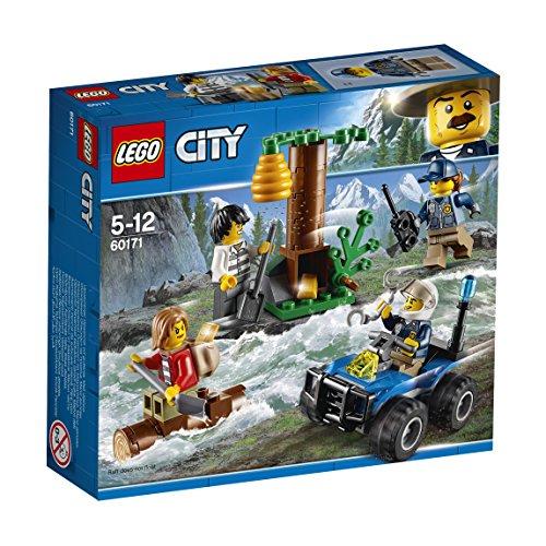 LEGO City 60171 - Bergpolizei Verfolgung durch die Berge, Konstruktionsspielzeug