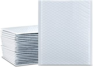 UCGOU 8.5x12 Inch White Padded Envelopes Water Proof Poly Bubble Mailers Self Seal Mailing Envelopes 25pcs